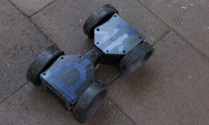 Un robot explorador compacto