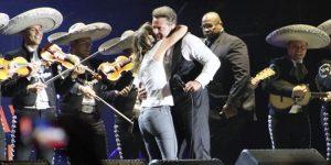 Luis Miguel llegó a Cancún con su espectáculo