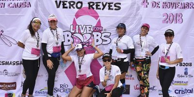 "Por cuarto año consecutivo se llevó a cabo la carrera ""Live for Boobs"""