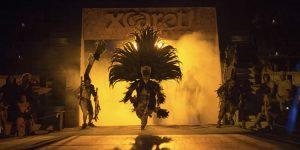 el parque ecoturístico Xcaret, de Cancún y la Riviera Maya