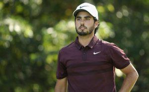 El golfista mexicano Abraham Ancer en el top 5 en Players Championship