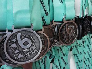 Medalla de la Carrera Familiar Ciudad Mayakoba