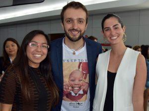 Tamara Suarez, Roy Perez y Paty de la Vega