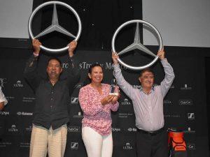 Pedro López, Laura Corona y Víctor Toledo, ganadores de Mercedes Trophy