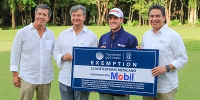 Sebastián Vázquez una vez más participará en el Mayakoba Golf Classic
