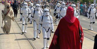 Fans de Star Wars convocan a marcha