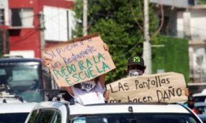 Caravana #ABREmiESCUELA recorre Cancún
